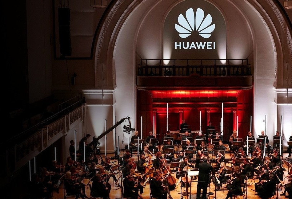 Huawei completes Schubert's 8th Symphony